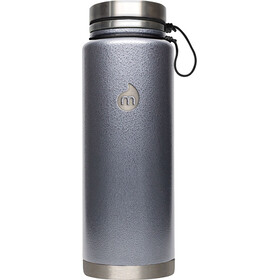MIZU V12 Insulated Bottle 1200 ml Gray Hammer Paint